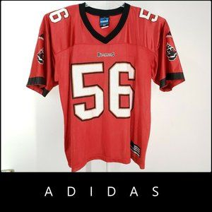 Adidas Tampa Bay Buccaneers Red #56 Jersey Size XL